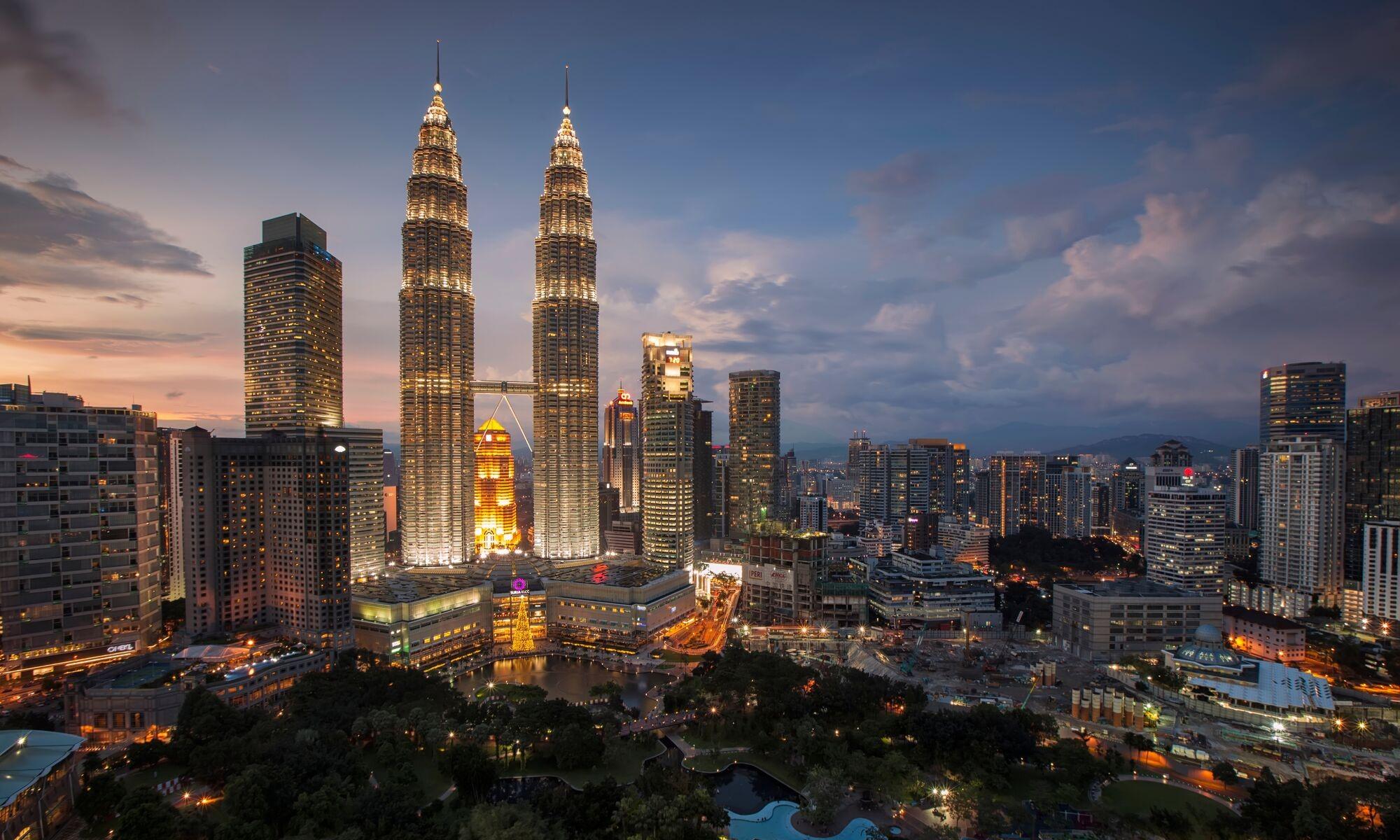 Вечерний Куала Лумпур | Русский гид в Малайзии